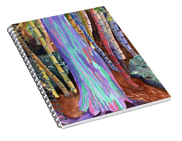 Rainbow Tree Spiral Notebook