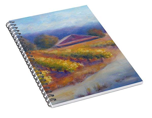 Red Barn Vineyard Spiral Notebook