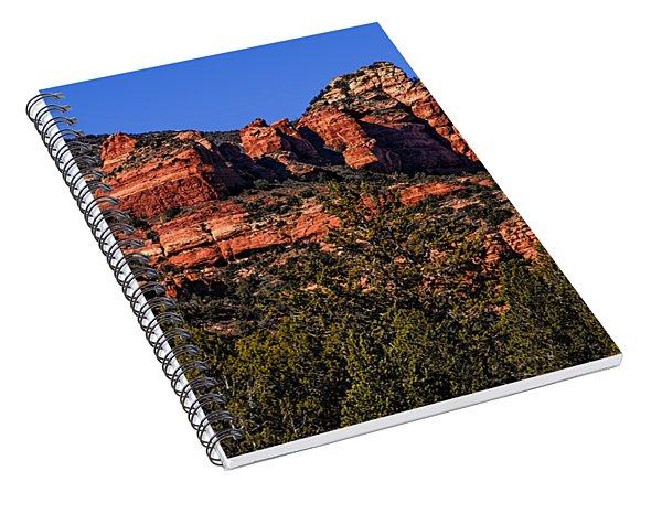 Red Rock Sentinels Spiral Notebook
