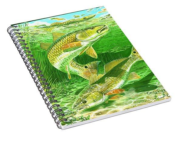 Redfish Haven In0018 Spiral Notebook