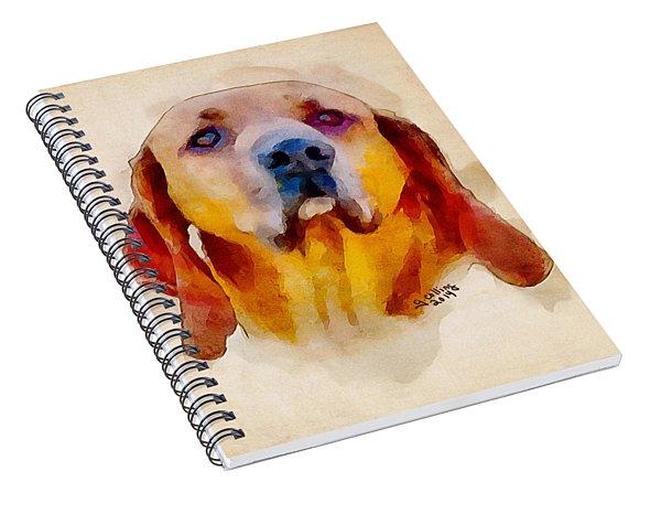 Retriever Spiral Notebook