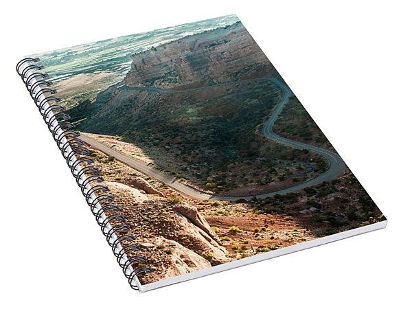 Rim Rock Drive Spiral Notebook