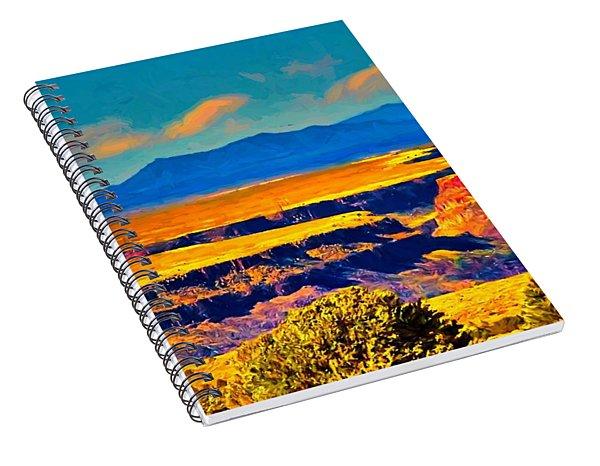 Rio Grande Gorge Lv Spiral Notebook