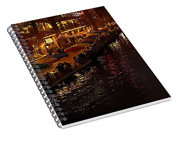 Riverwalk Night Spiral Notebook