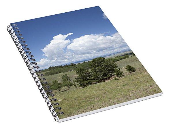 Rocky Mountain Meadow Spiral Notebook