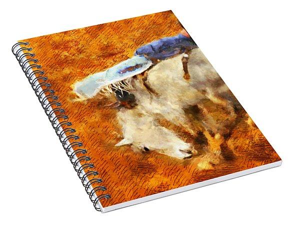 Eight-second Ride Spiral Notebook