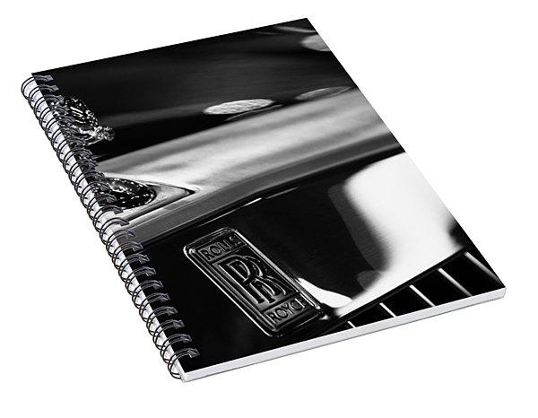 Rolls Royce Spiral Notebook