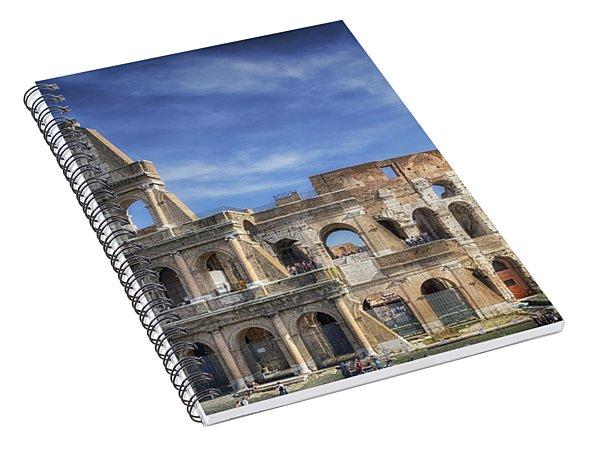Roman Icon Spiral Notebook