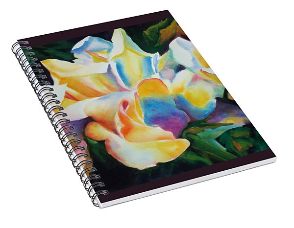 Rose Cluster Half Spiral Notebook