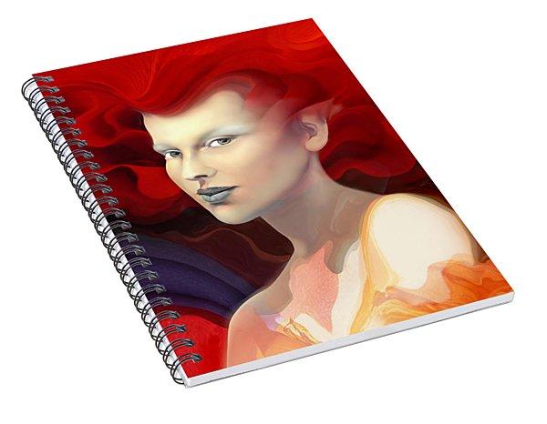 Rosy Spiral Notebook