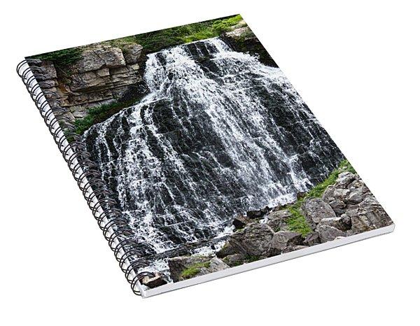 Rustic Falls Spiral Notebook