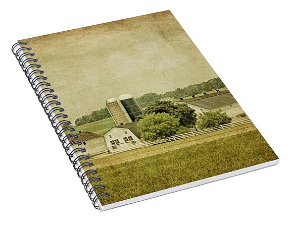 Rustic Farm - Barn Spiral Notebook