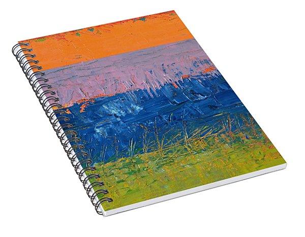 Rustic Roadside Series 2 - Thistle Field Spiral Notebook