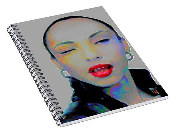 Sade 3 Spiral Notebook