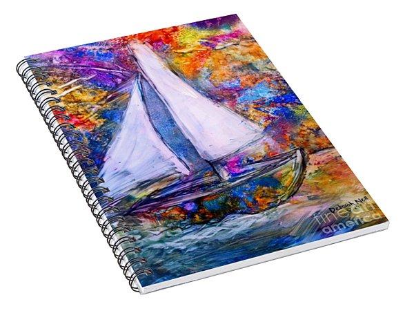Sail On Spiral Notebook