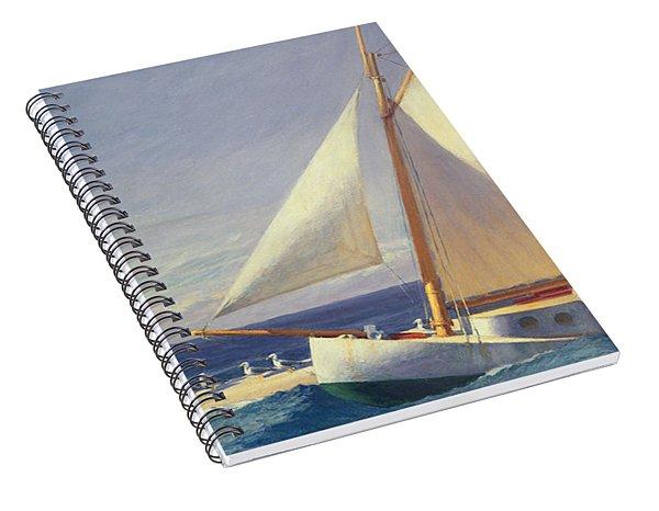 Sailing Boat Spiral Notebook
