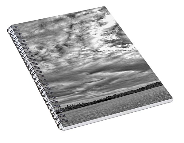 San Francisco Clouds Spiral Notebook
