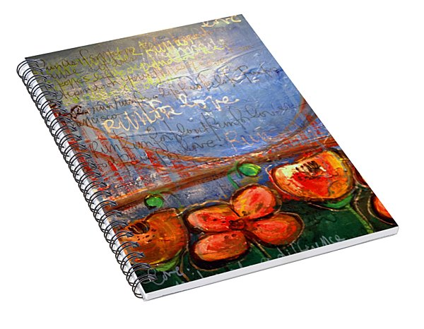 San Francisco Poppies For Lls Spiral Notebook