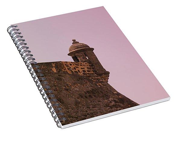 San Juan - City Lookout Post Spiral Notebook