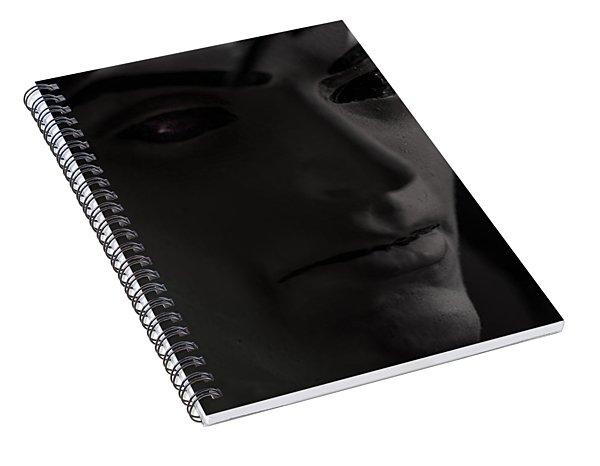 Sandman Portrait - Morpheus Spiral Notebook