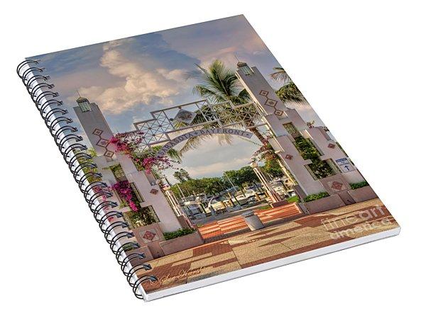 Sarasota Bayside Spiral Notebook