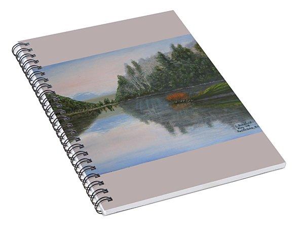 Sarita Lake On Vancouver Island Spiral Notebook