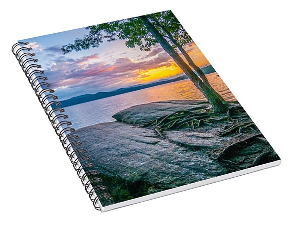 Scenery Around Lake Jocasse Gorge Spiral Notebook