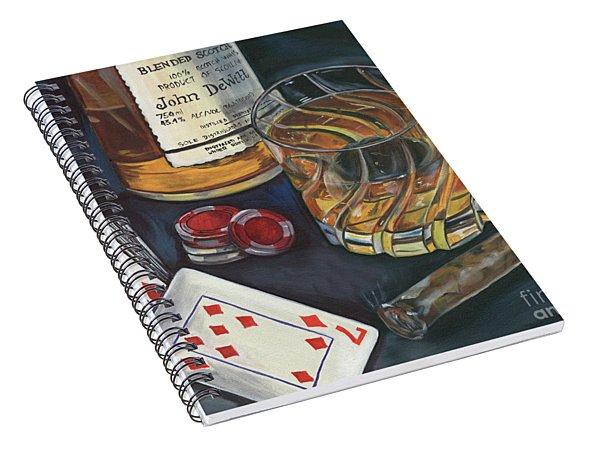 Scotch And Cigars 4 Spiral Notebook