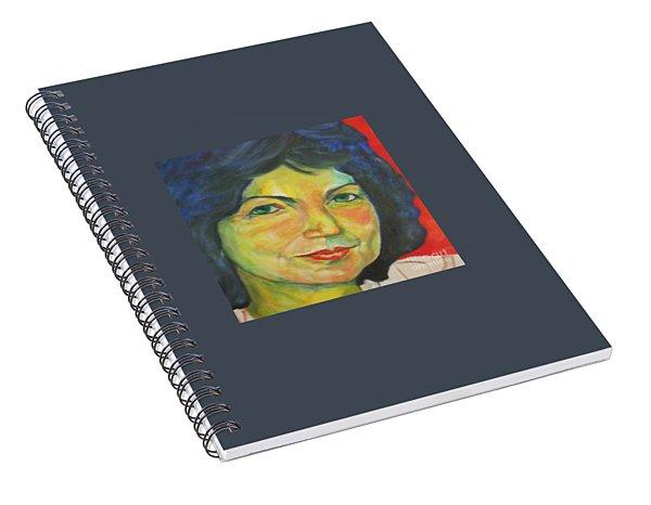 Selfportrait Spiral Notebook