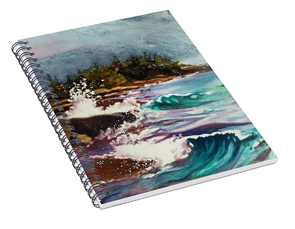 September Storm Lake Superior Spiral Notebook