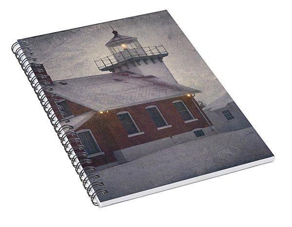 Sherwood Point Light Spiral Notebook