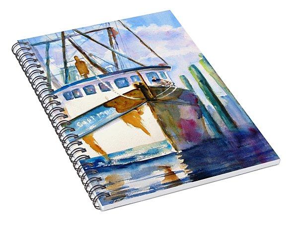 Shrimp Boat Isra Spiral Notebook
