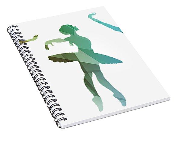Simply Dancing 3 Spiral Notebook
