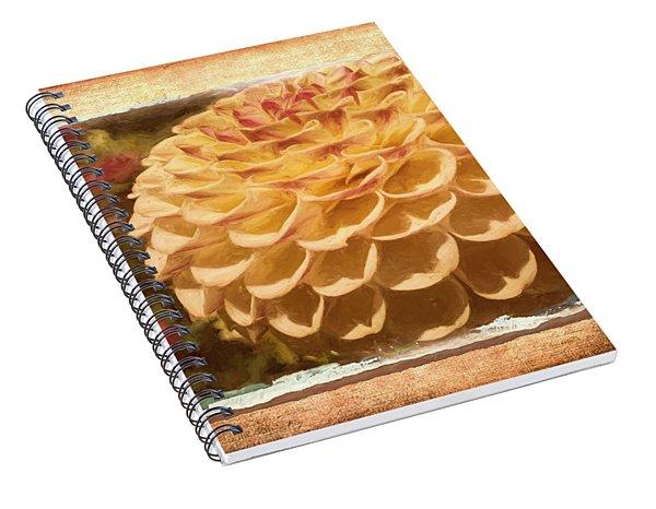 Simply Moments - Flower Art Spiral Notebook