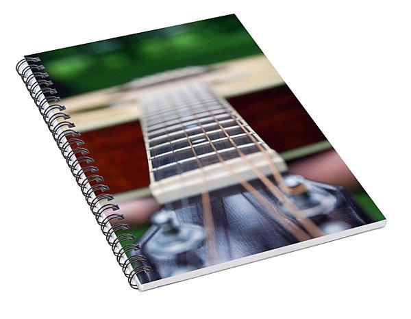 Six String Music Spiral Notebook