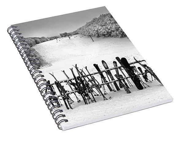 Ski Vermont At Middlebury Snow Bowl Spiral Notebook