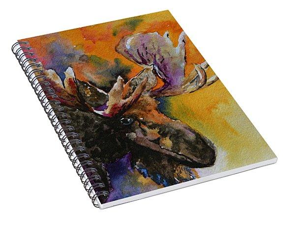 Sly Moose Spiral Notebook