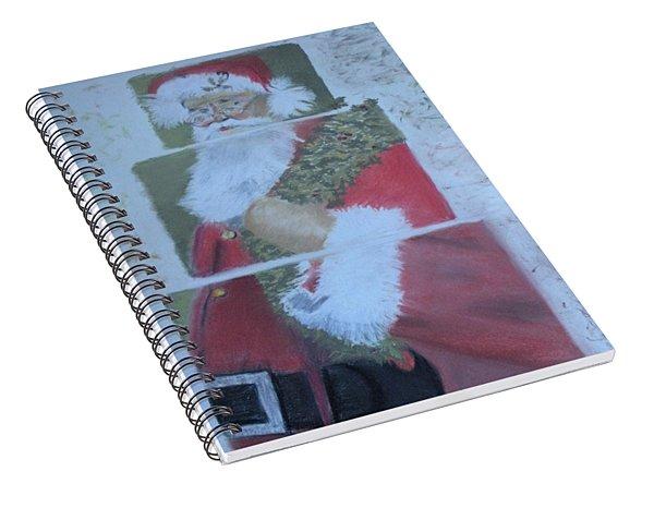 S'nta Claus Spiral Notebook