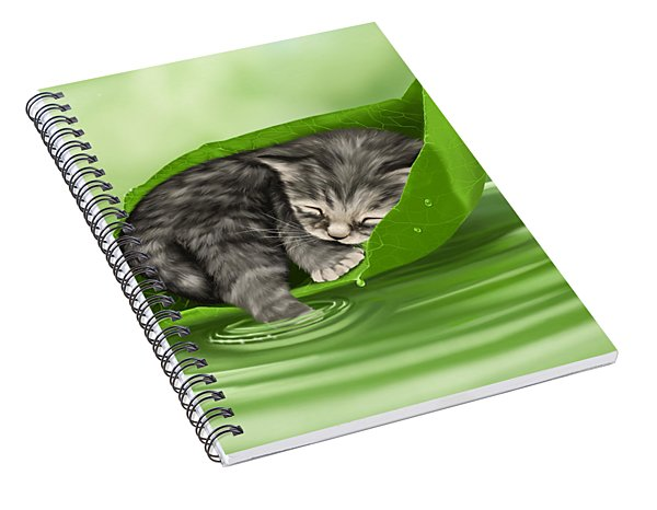 Softly Lulled Spiral Notebook