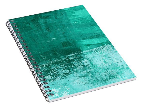 Soothing Sea - Abstract Painting Spiral Notebook