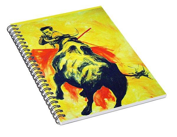 Spanish Bullfight Spiral Notebook