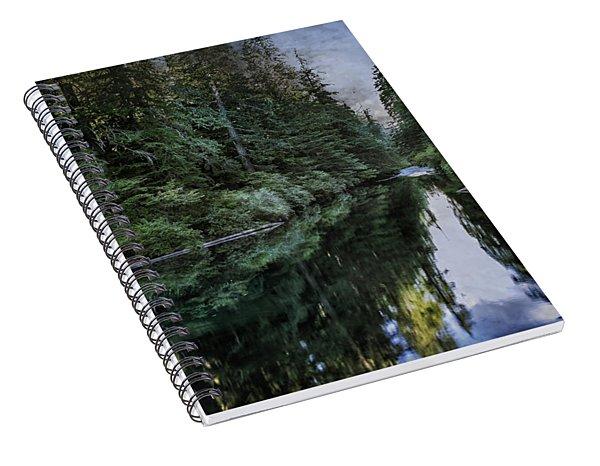 Spawning A River Spiral Notebook