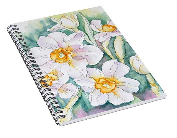 Spring Daffodils Spiral Notebook