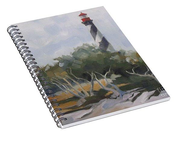 St Augustine Lighthouse First Light Spiral Notebook