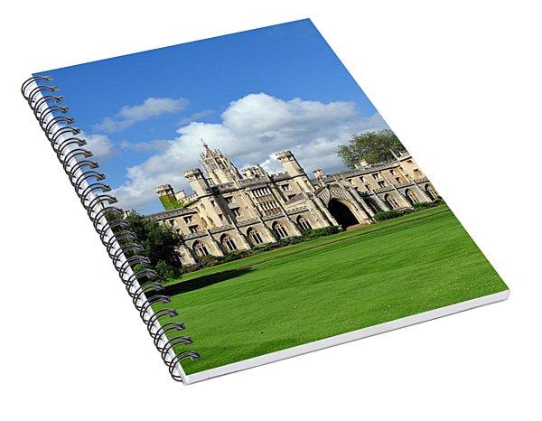 St. John's College Cambridge Spiral Notebook