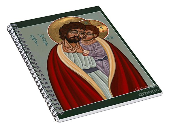 St. Joseph And The Holy Child 239 Spiral Notebook