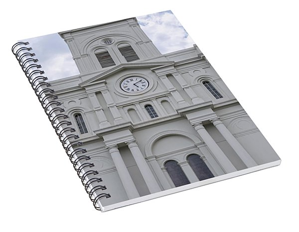 St. Louis Cathedral Close-up Spiral Notebook