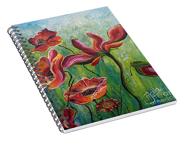 Standing High Spiral Notebook