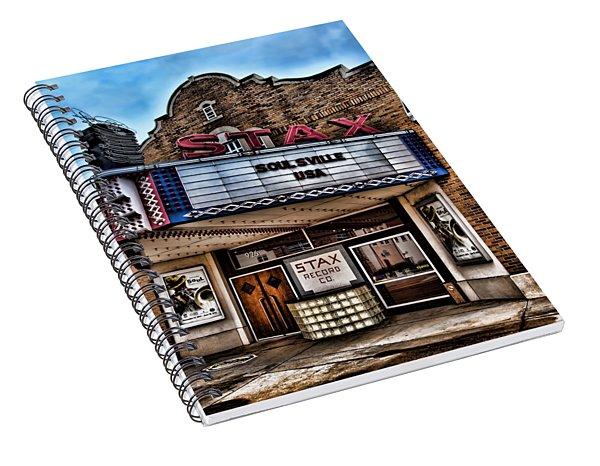 Stax Records Spiral Notebook