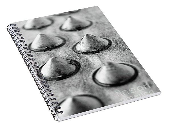 Steel Kisses Spiral Notebook